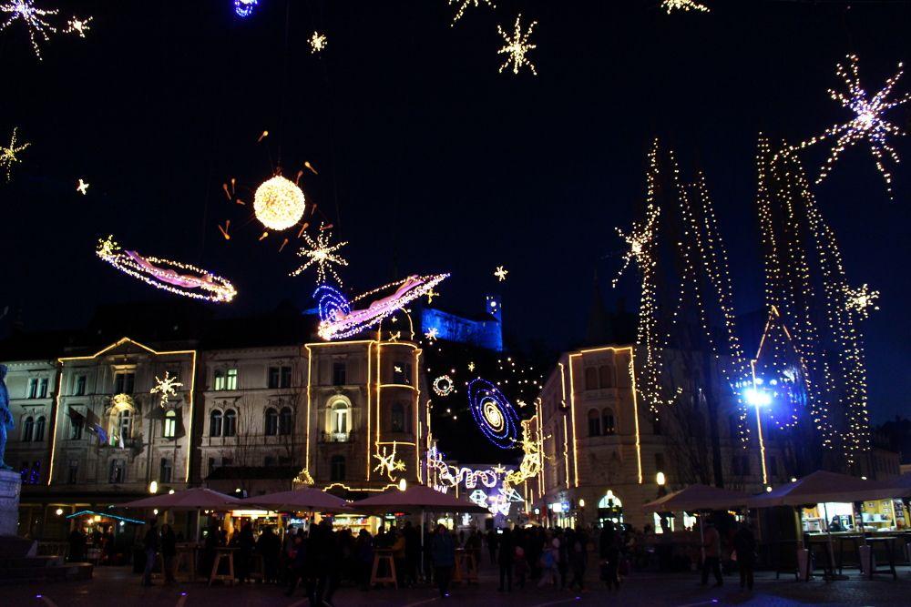 visitare lubiana a dicembre
