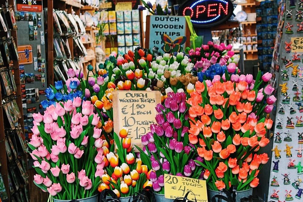 amsterdam cosa visitare: mercato dei fiori