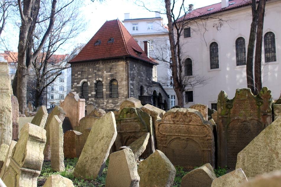 cosa visitare a praga: cimitero ebraico