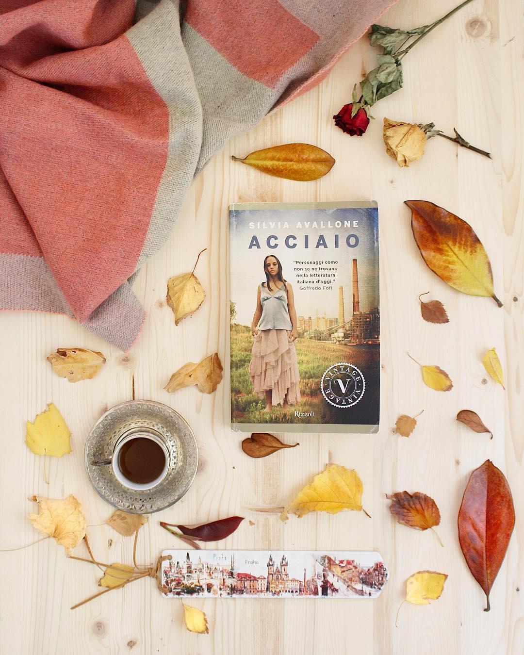 """libri 2018 """"Acciaio"""" Silvia Avallone"""