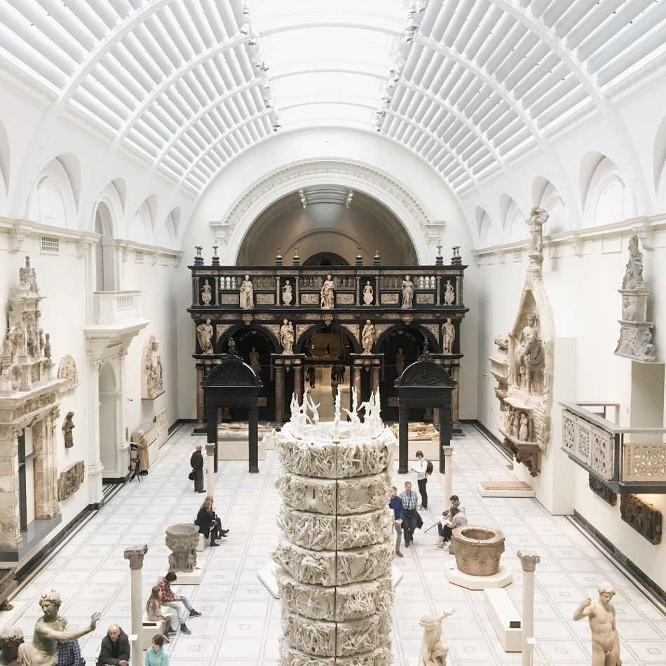 musei gratis a Londra: Victoria & Albert museum