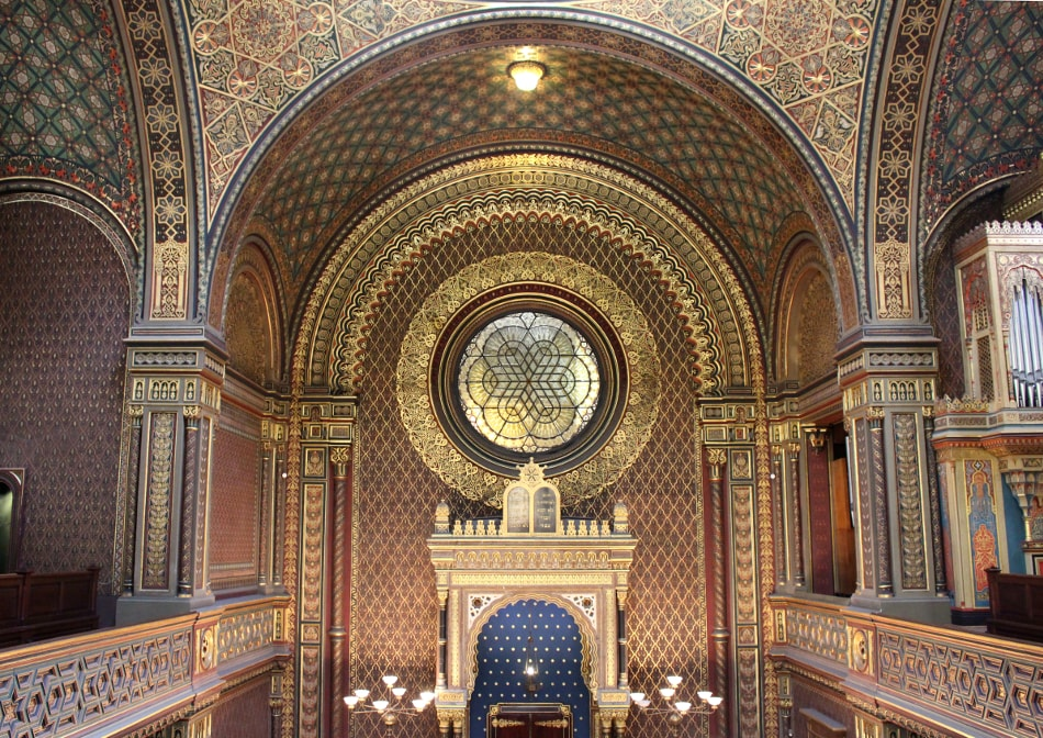 visitare praga: sinagoga spagnola