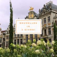 bruxelles in 3 giorni itinerario