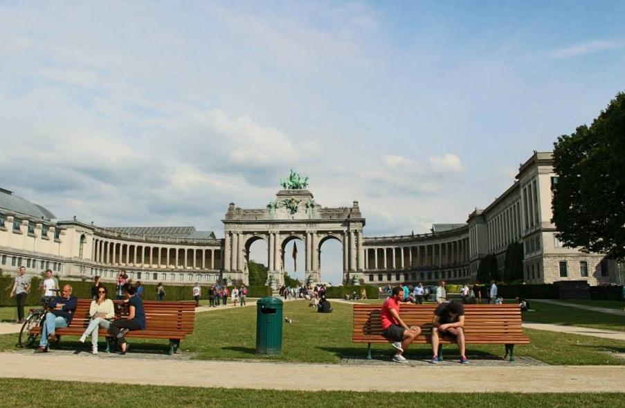 itinerario bruxelles: parc du cinquantenaire