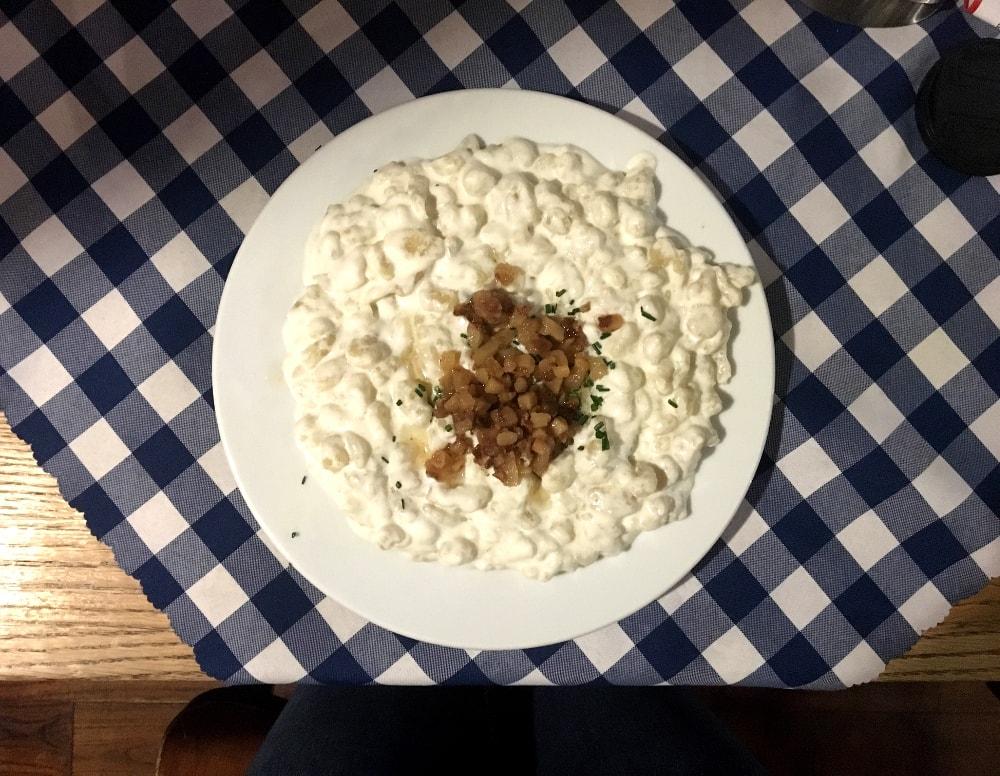 cosa mangiare a bratislava: halusky