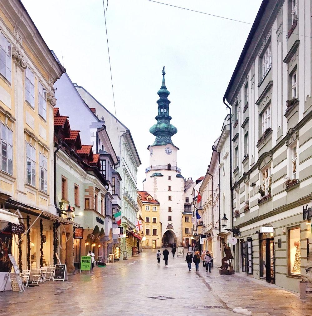 cose da vedere a Bratislava: porta san michele