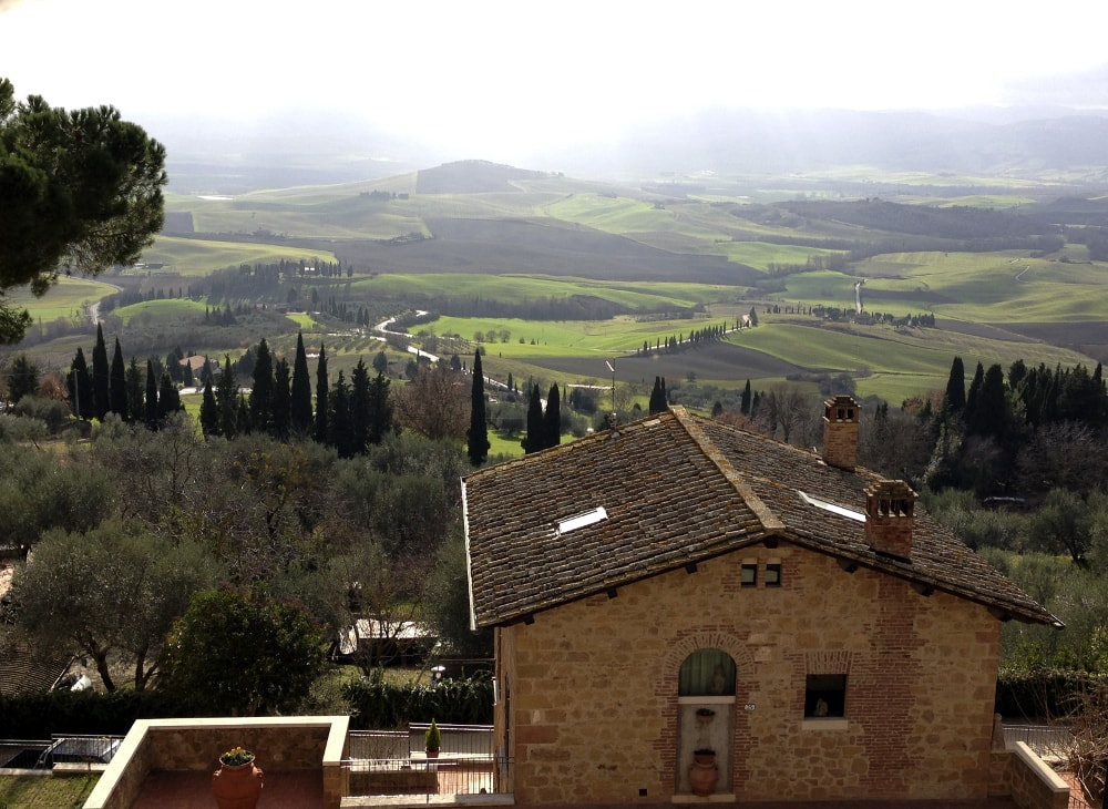 val d'orcia panorama