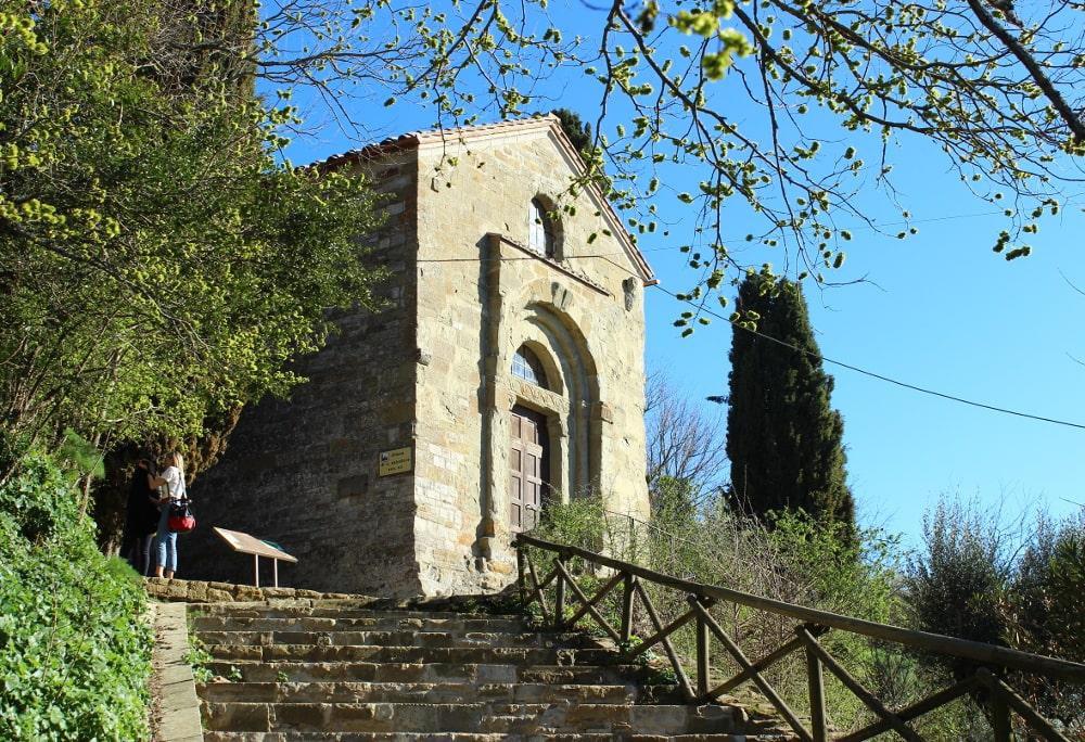 isola maggiore trasimeno: chiesa di San Salvatore