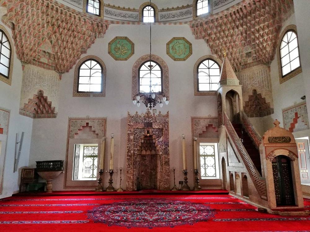 sarajevo cose da vedere: moschea gazi husrev beg
