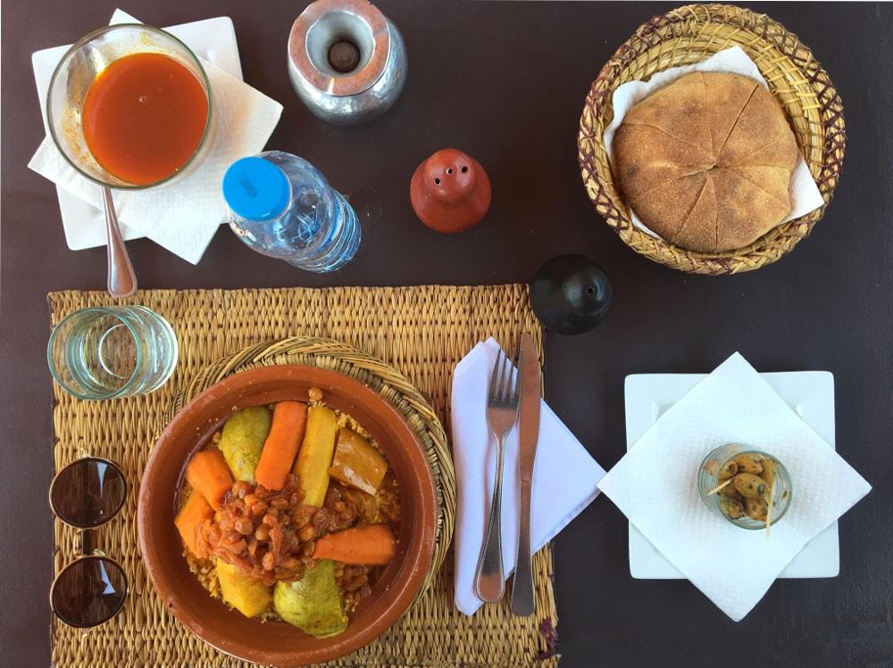 piatti tipici marocchini