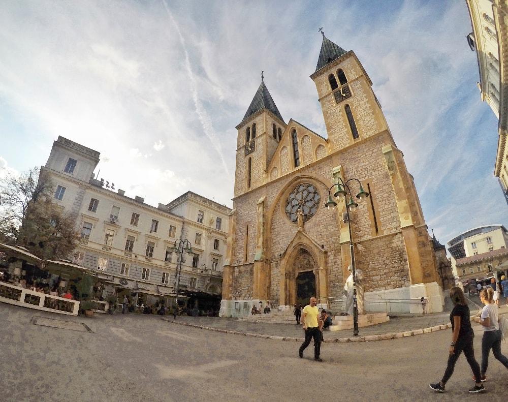 cosa vedere a sarajevo: cattedrale cattolica