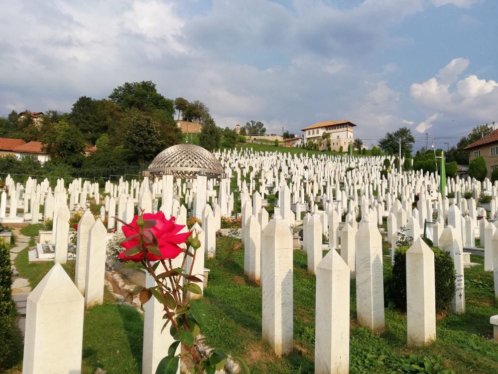 sarajevo cose da vedere: cimiteri