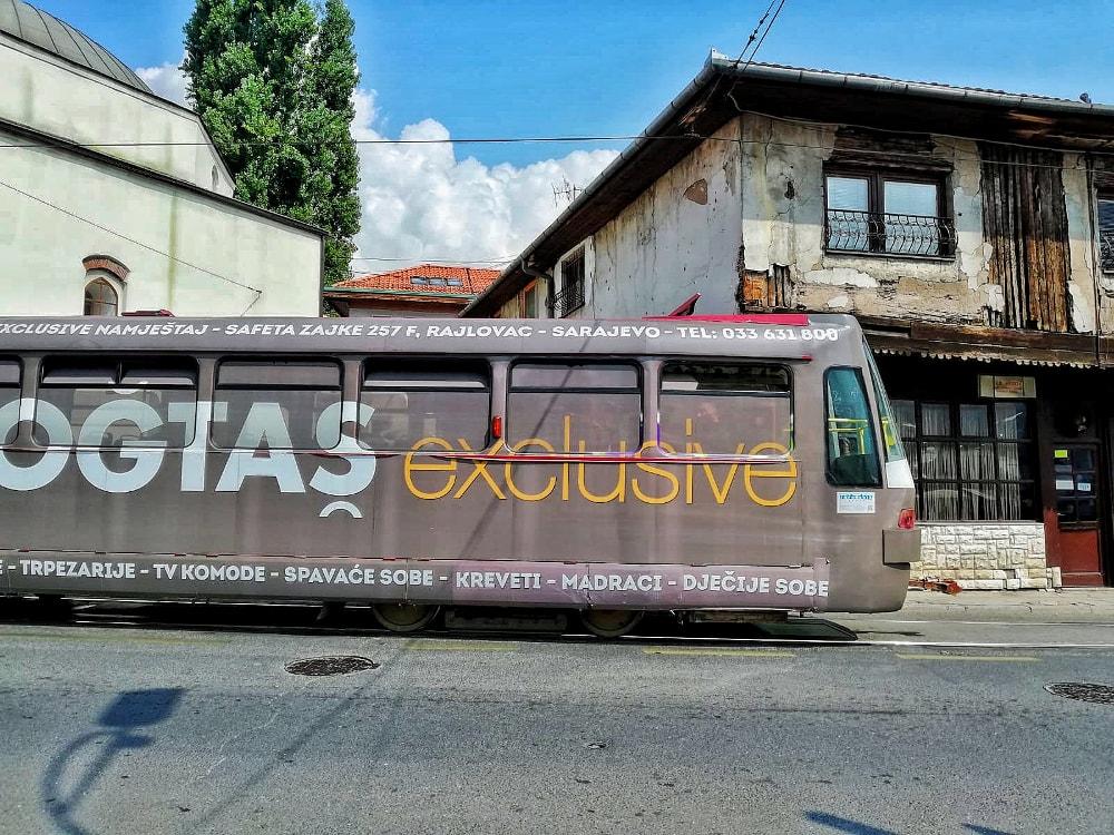 visitare sarajevo: i tram