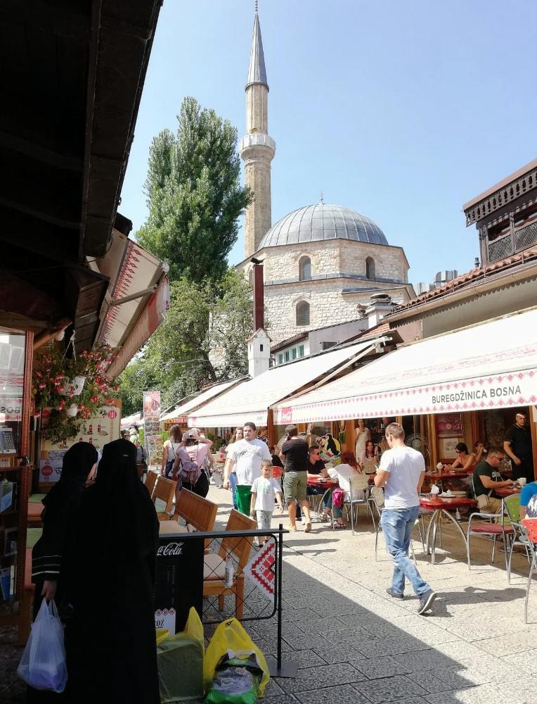 visitare sarajevo cosa vedere: centro storico