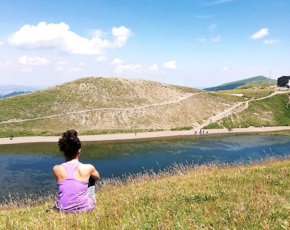 escursione appennino lago scaffaiolo