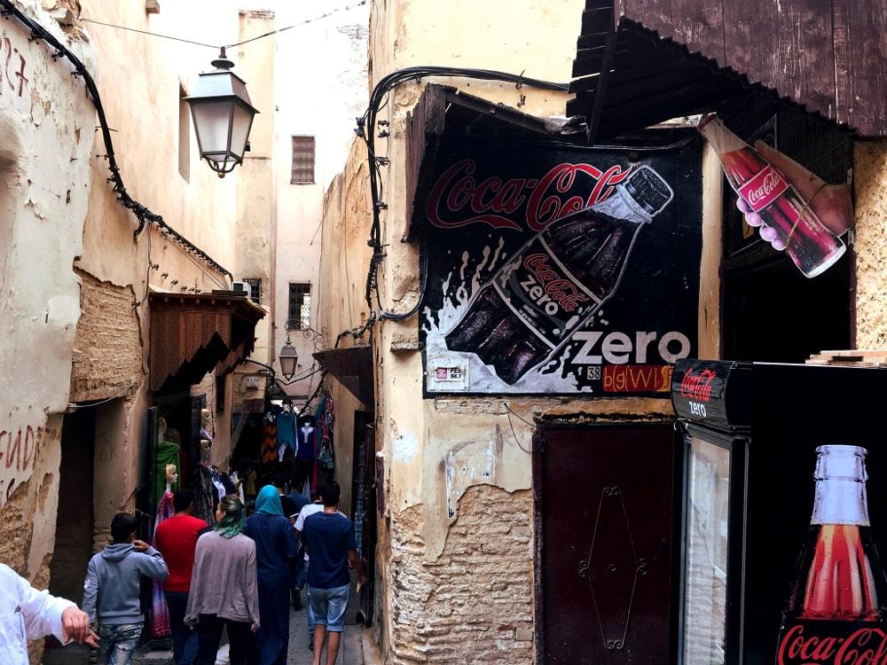 fes marocco in giro
