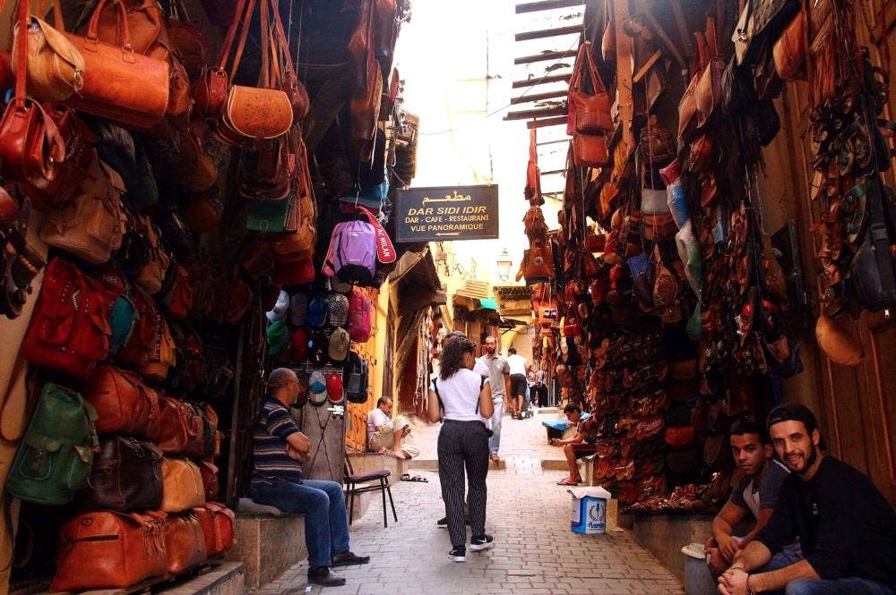 cosa vedere a fes: souq e mercati