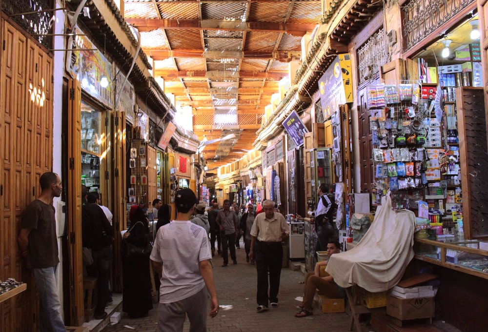 fes marocco souq