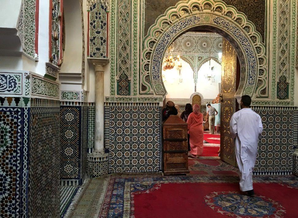 fes marocco zawiya
