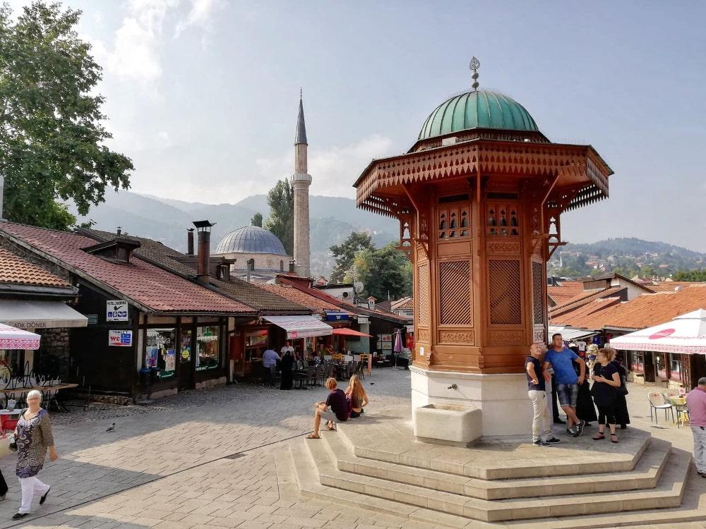 città economiche da visitare: sarajevo