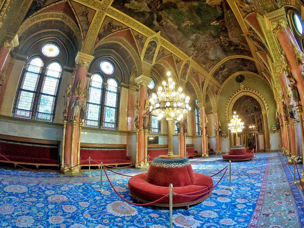 parlamento ungherese salotto lord