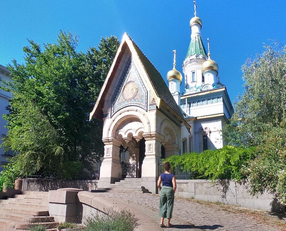 sofia cosa vedere: chiesa russa di san nicola