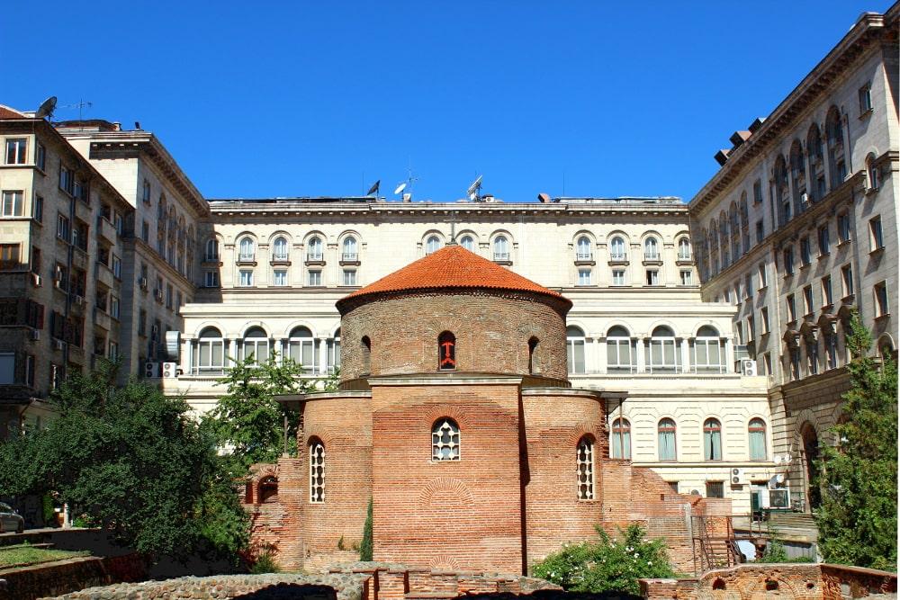 sofia bulgaria luoghi di interesse: rotonda san giorgio