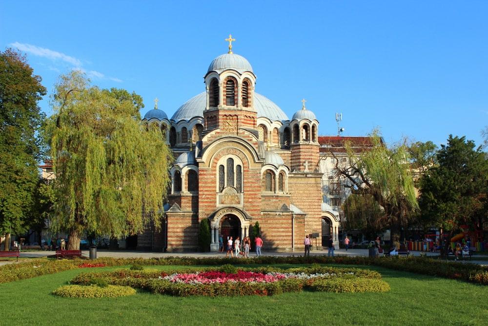 visitare sofia: chiesa dei sette santi