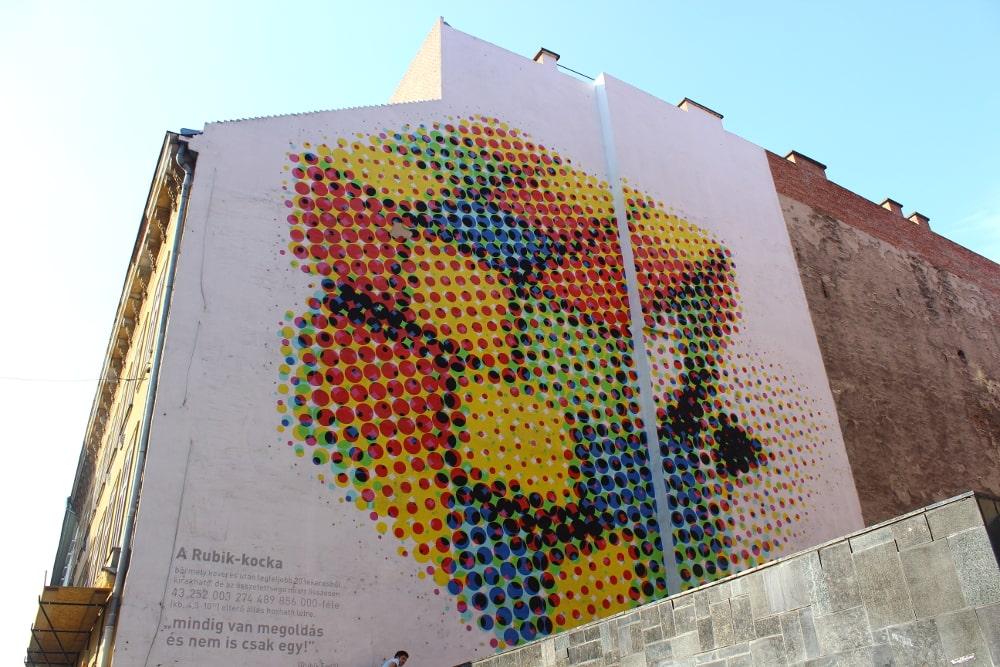 murales budapest quartiere ebraico