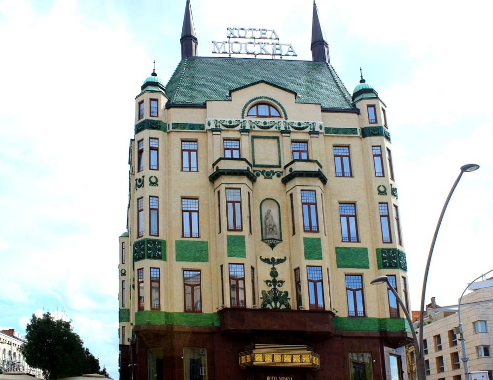 da vedere a belgrado hotel moskva
