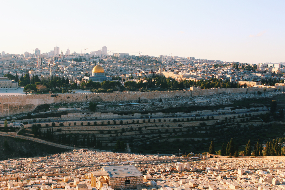 viaggio in israele monte degli ulivi