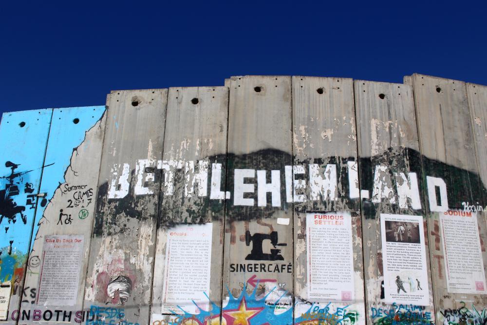 cosa vedere e betlemme muro separazione