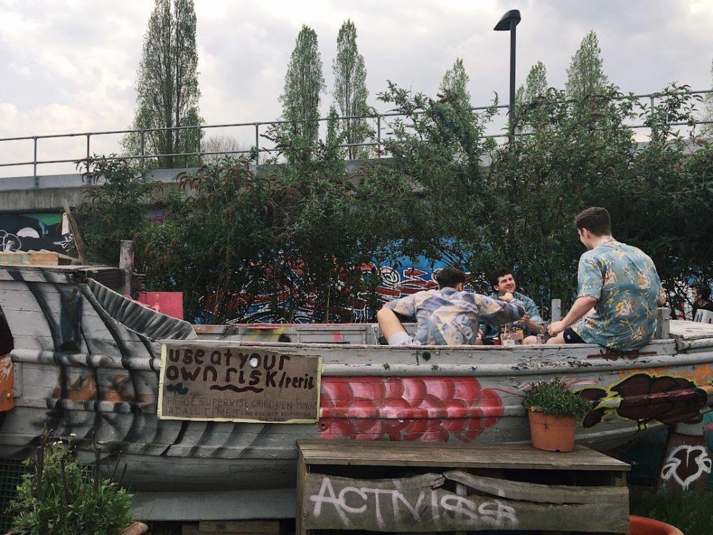 londra luoghi insoliti: nomadic gardens