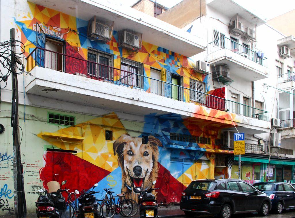 visitare tel aviv: street art in Florentin