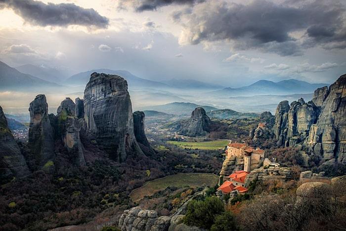 itinerari europa on the road: meteore grecia