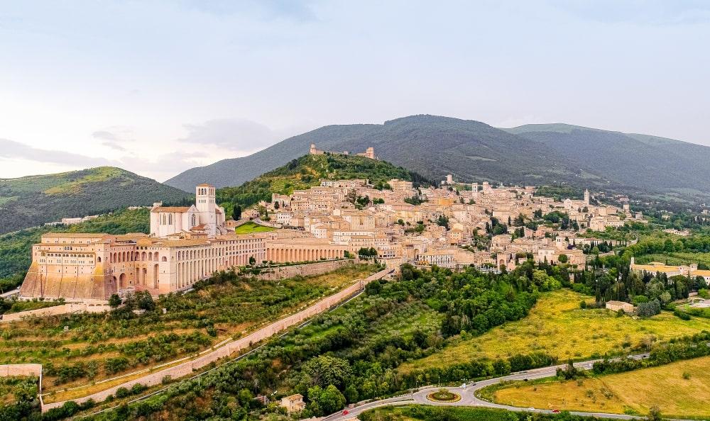 fine settimana in italia: umbria, assisi