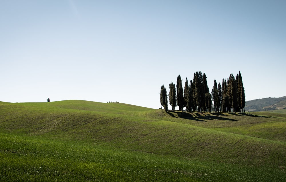 weekend in italia: val d'orcia
