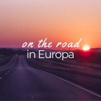on the road in europa