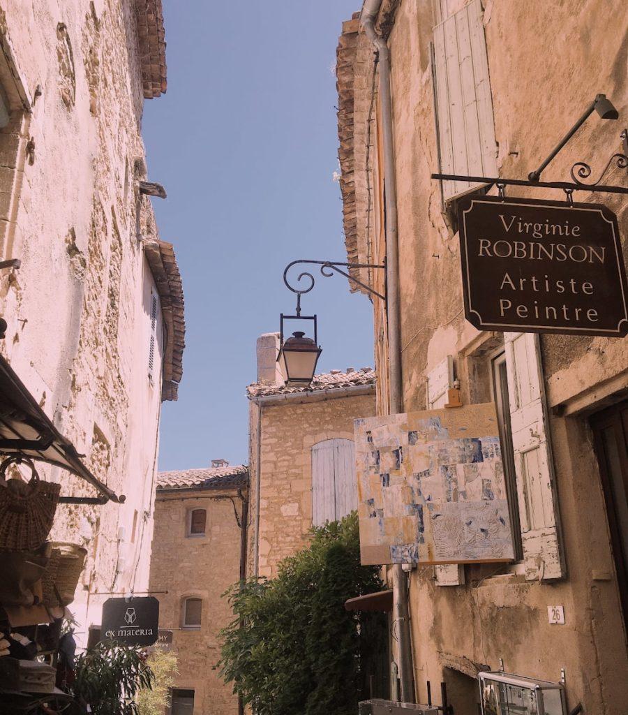 provenza itinerari: borgo