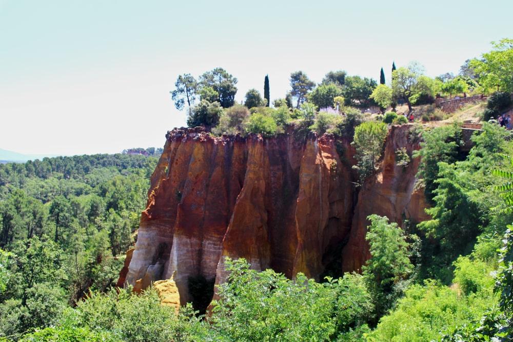 roussillon canyon provenza