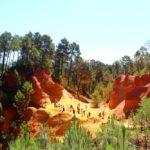 Roussillon e il sentiero dell'ocra in Provenza