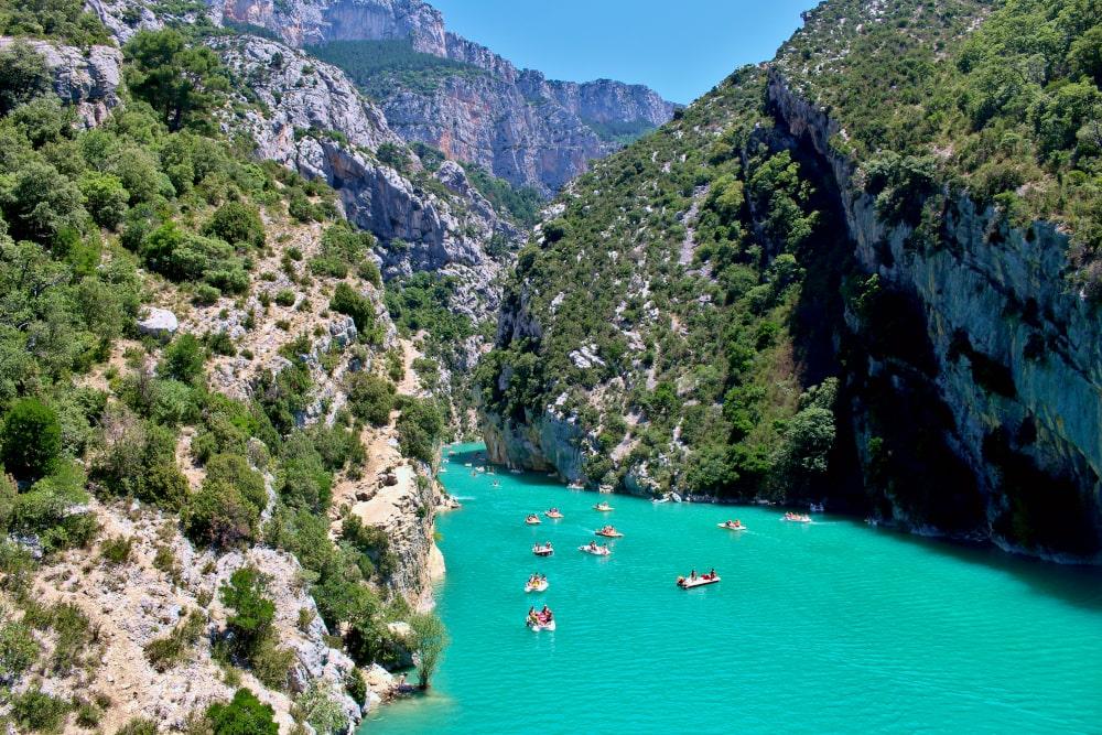 cosa vedere in provenza: lago sainte-croix verdon