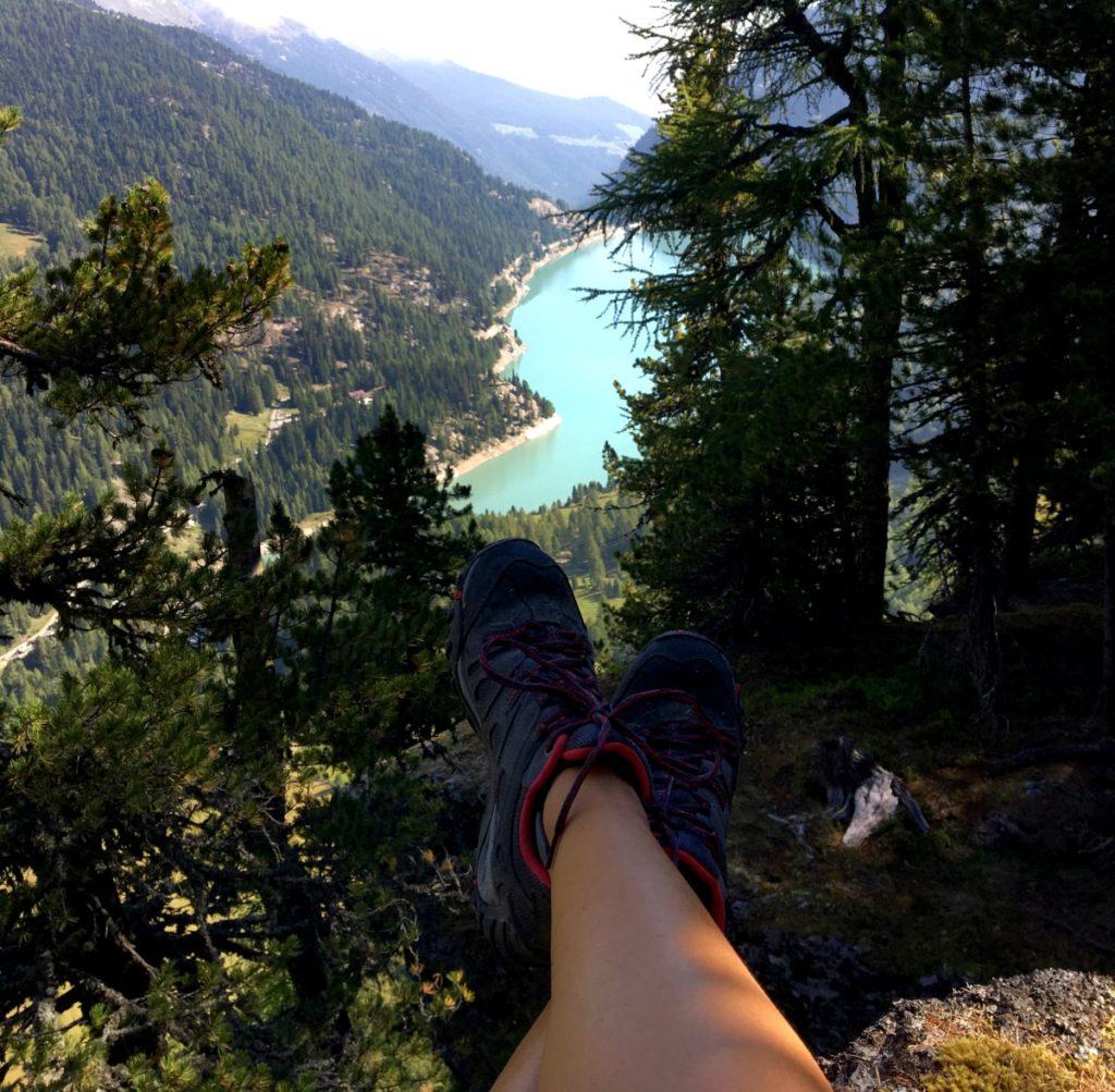 val venosta escursioni: lago di gioveretto