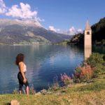 Lago di Resia: il campanile sommerso di Curon in Trentino