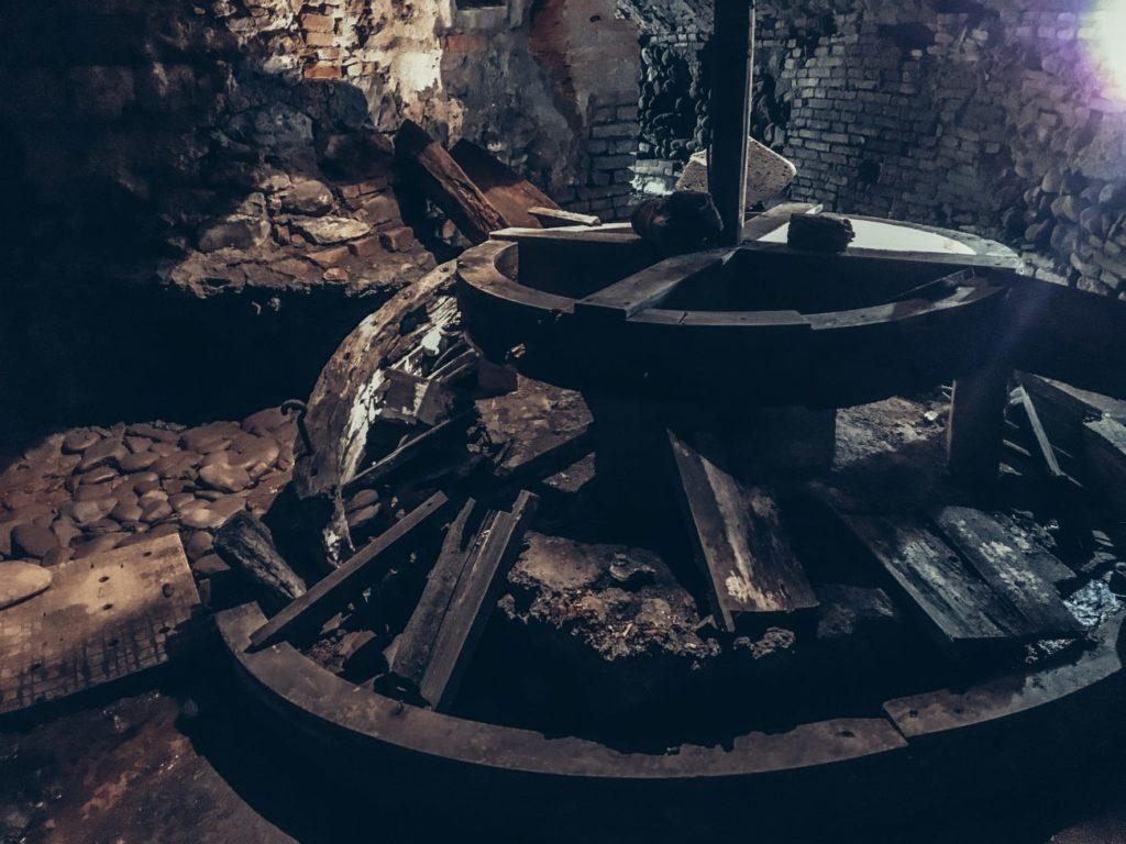 frantoio pistoia sotterranea