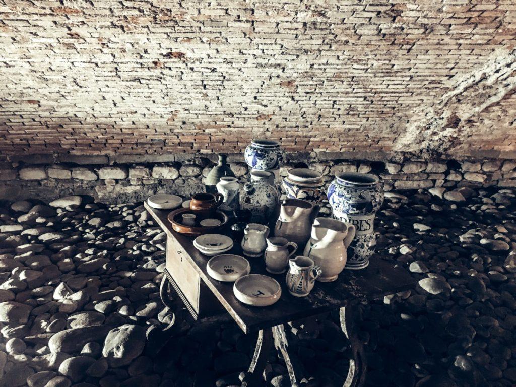 pistoia sotterranea ceramiche