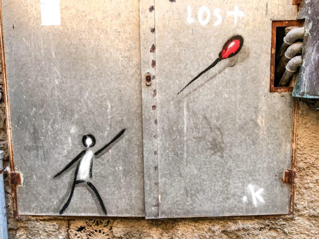 pistoia street art exitenter