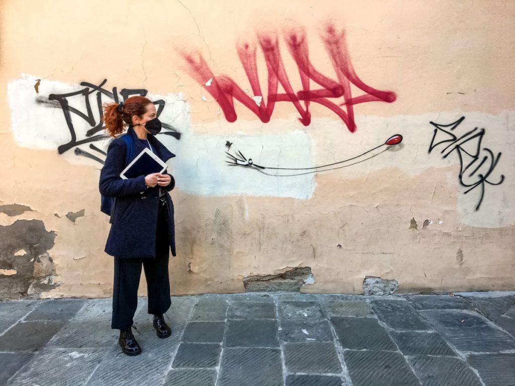 street art tour pistoia