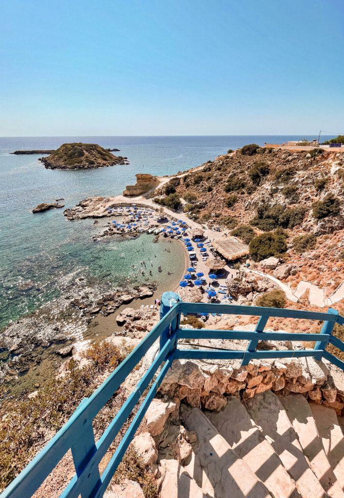 grande blue beach rodi