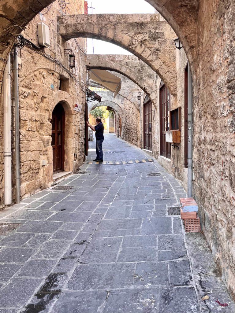 visitare Rodi città vecchia